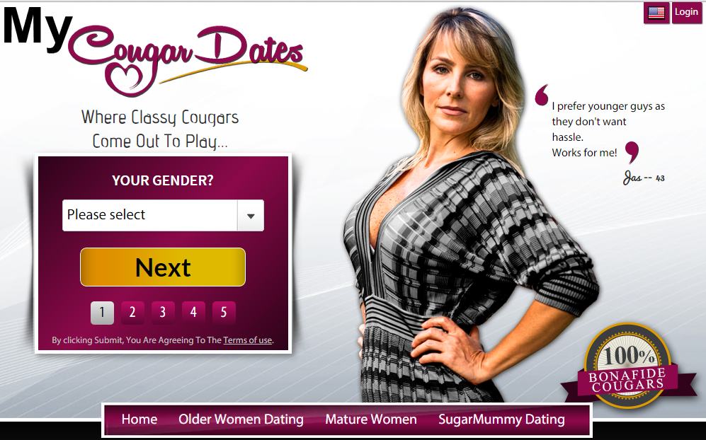 cougar online dating No 1 cougar dating site for older women and younger men free cougar dating find hot cougars & cubs online now browse 1000's of photo galleries and profiles.